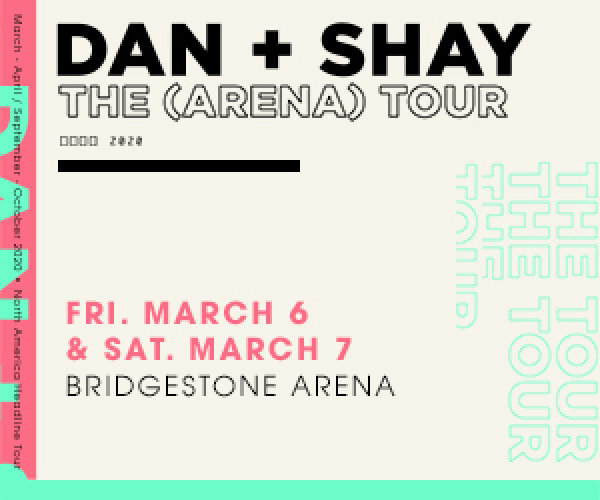 None - Win tickets to see Dan + Shay!