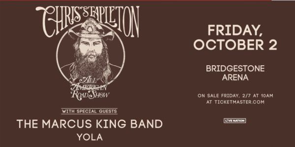 image for Chris Stapleton at the Bridgestone