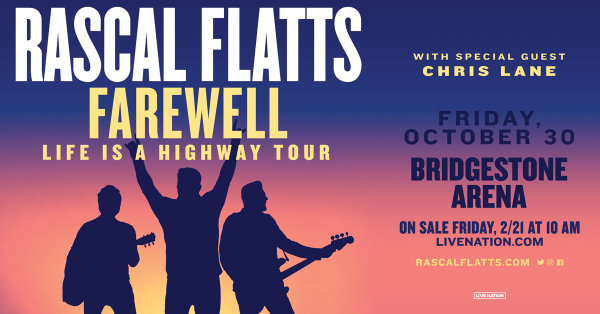 image for Win Rascal Flatts tickets!