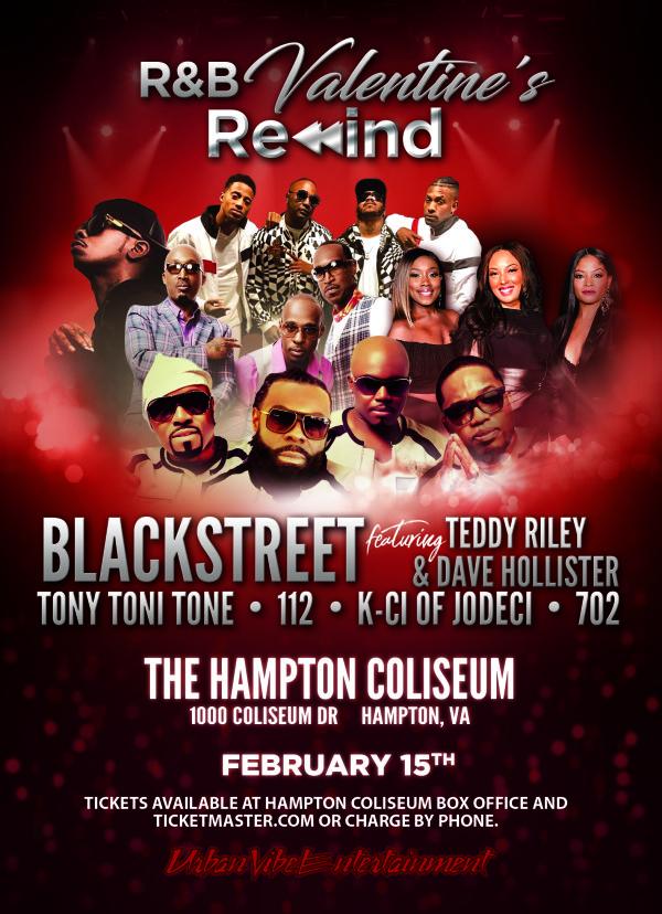 None - Win R&B Valentine's Rewind tix!