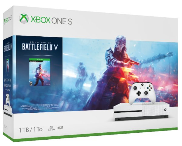 None - Win an XBOX One S with Battlefield V