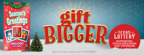 None -    Flip A Coin For A Chance To Win Texas Lottery Season's Greetings Scratch Tickets!