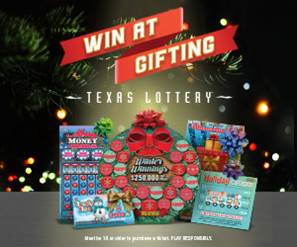 None - Win Texas Lottery Holiday Scratch Tickets!