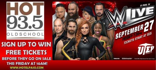 None - WWE LIVE 2019