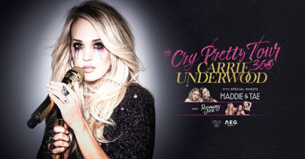 None - Enter to win tickets to see Carrie Underwood!