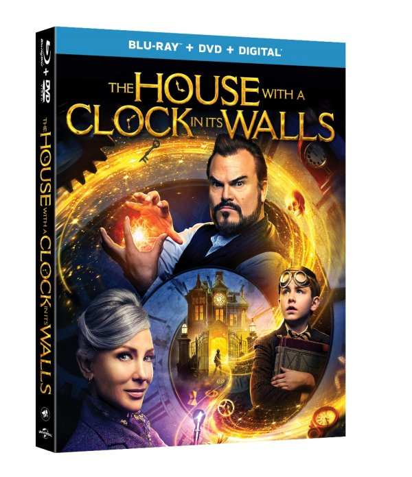 None - The House with a Clock in its Walls Blu-Ray Giveaway!