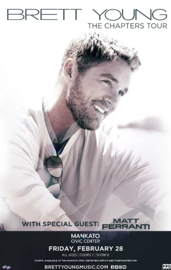 None - Brett Young Giveaway!
