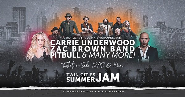 None - Twin Cities Summer Jam Giveaway!