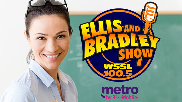 None - Ellis and Bradley's Teacher of the Week with Metro By T Mobile