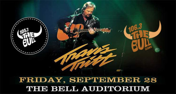 See Travis Tritt @ The Bell On 9/28!