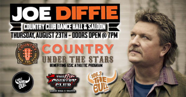 Joe Diffie at the Country Club on 8/23!