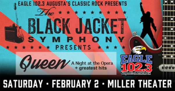 Win tickets to the Black Jacket Symphony performing QUEEN!