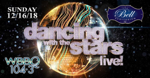 See Dancing With The Stars at the Bell Live! on 12/16!