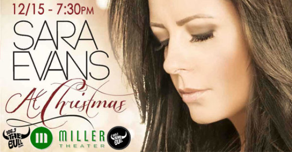 See Sara Evans at the Miller on 12/15!