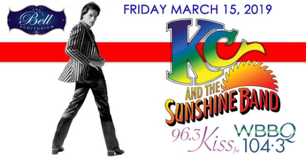 None - See KC & The Sunshine Band at the Bell on 3/15!