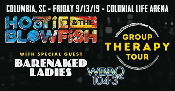 None - See Hootie & The Blowfish in Columbia on 9/13!