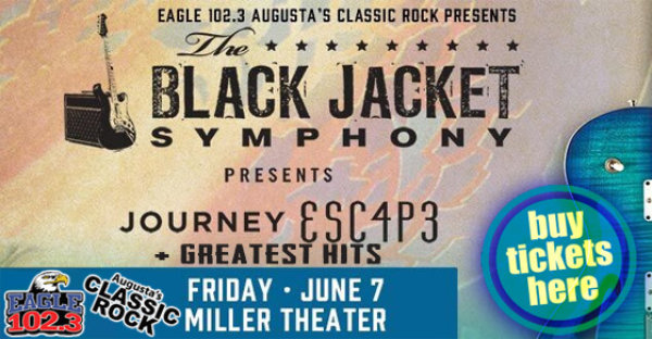 Win tickets to see Black Jacket Symphony perform JOURNEY on 6/7!