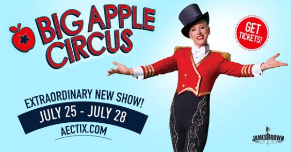 None - Family 4-Pack to the BIG APPLE CIRCUS!