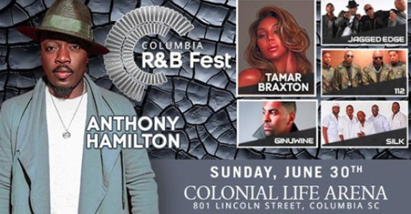 None - Win Columbia R&B Fest tickets for 6/30!