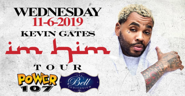 None - See Kevin Gates at the Bell on 11/6!