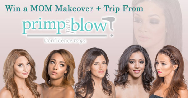 None - MOM Makeover from Primp & Blow Dry Bar!