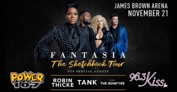 None - See Fantasia & Friends at the James Brown Arena on 11/21!