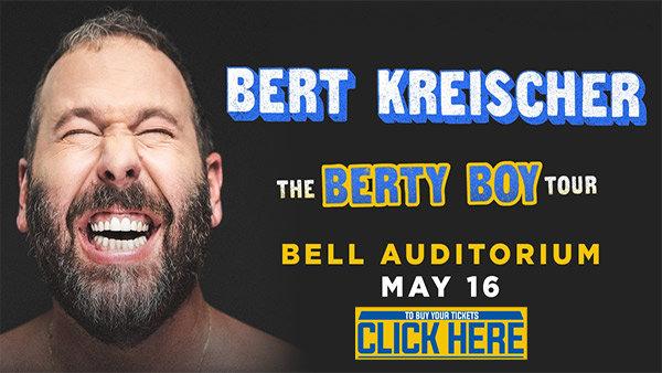 None - Comedian Bert Kreischer At The Bell!