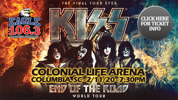 Win a Farewell To The 4-Pack of tickets to see KISS!