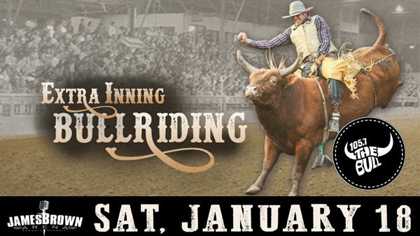 None - Win tickets to the Extra Inning Bull Riding!