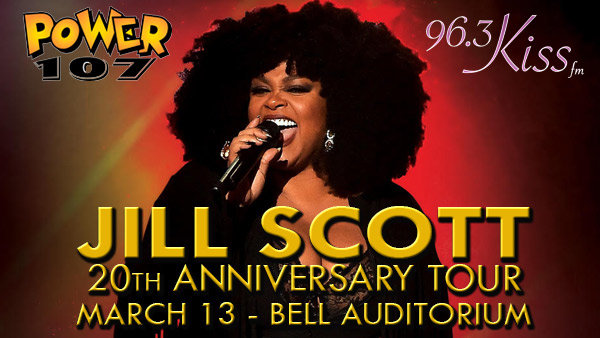 Win Preferred Seats to see JILL SCOTT!