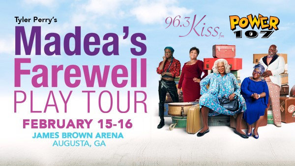 None - See Tyler Perry's Madea's Farewell Play Tour!