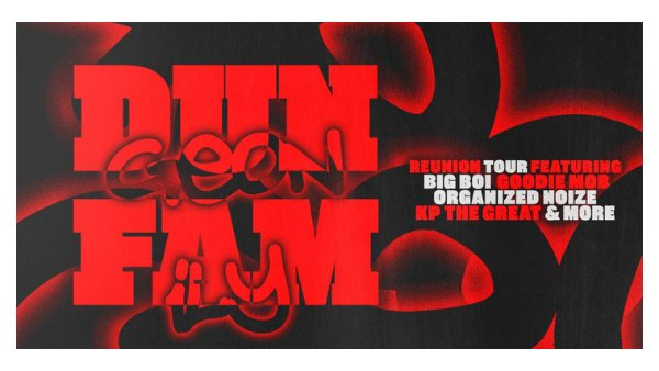 None - Dungeon Family Tour
