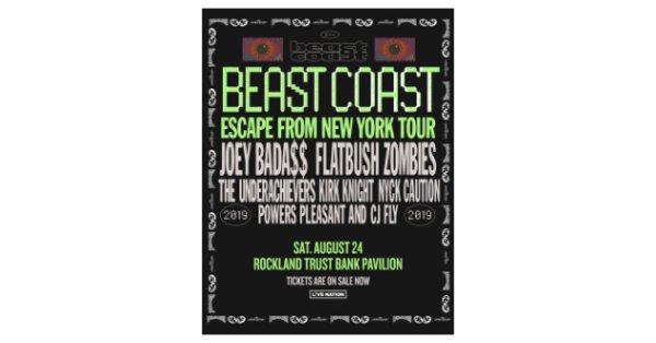 None - Beast Coast 2019: Joey Bada$$ & Flatbush Zombie