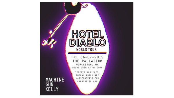 None - Machine Gun Kelly - Hotel Diablo World Tour
