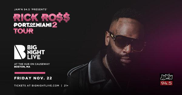None - JAM'N 94.5 Presents Rick Ross