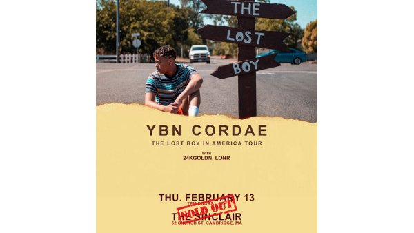 None - YBN Cordae: The Lost Boy in America Tour