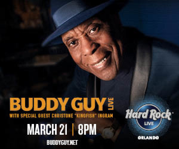 None - Buddy Guy at Hard Rock Live on March 21!