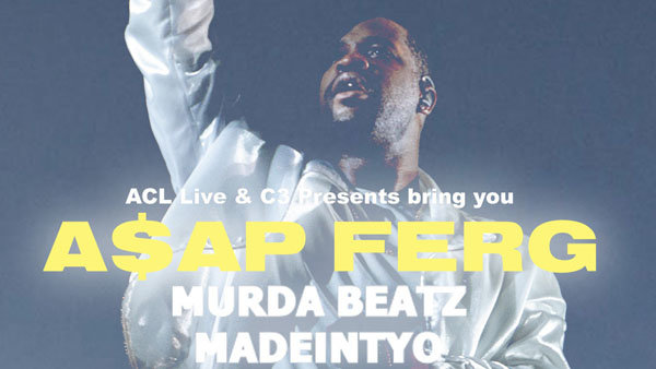 None - Enter To Win Tickets To See A$AP Ferg!
