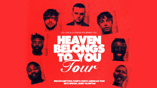 None - Enter To Win A Pair Of Tickets To See BROCKHAMPTON!