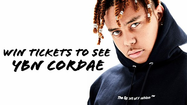 image for Enter To Win Tickets to YBN CORDAE!