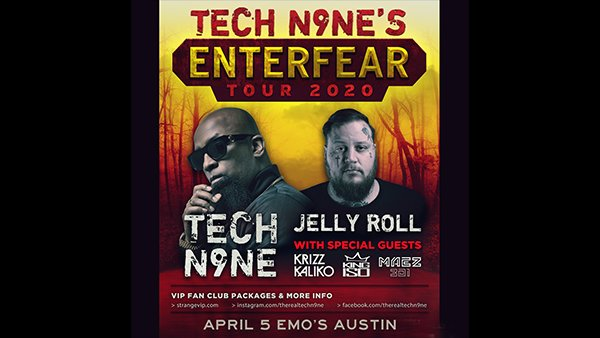 image for Enter To Win Tickets To See TECH N9ne!