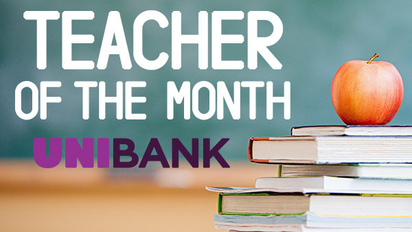 None -                     96-1 SRS UniBank Teacher of the Month