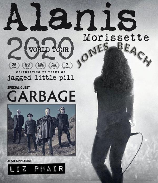 image for Alanis Morissette July 9, 2020 Xfinity Center