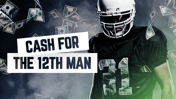 None -      Cash For The 12th Man: Win $1000 from Sports Radio KJR! (Spring 2019)