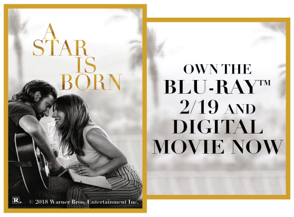 None - A Star Is Born on Blu Ray