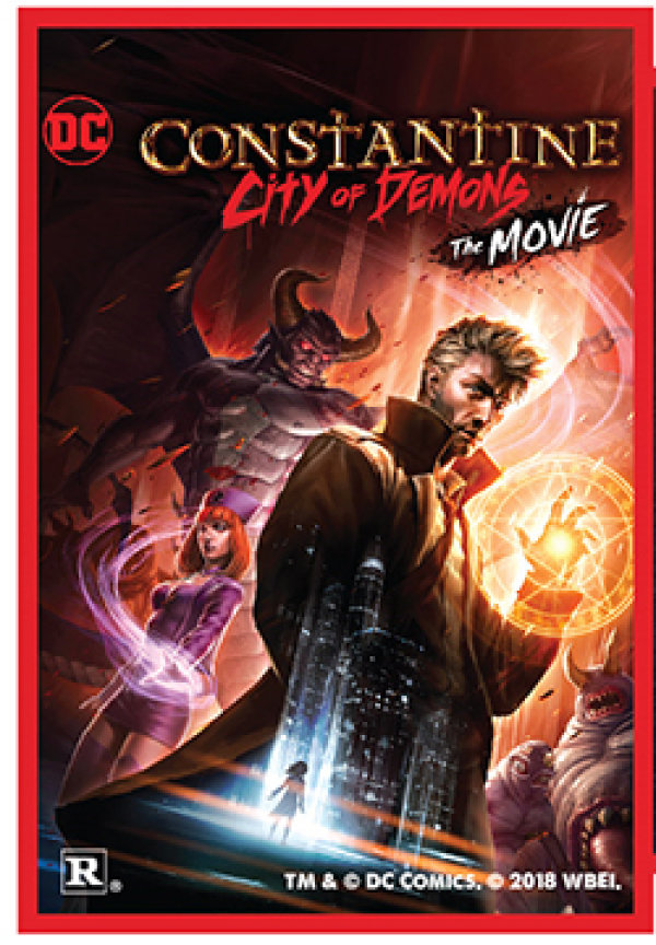 None - Constantine the City of Demons the Movie