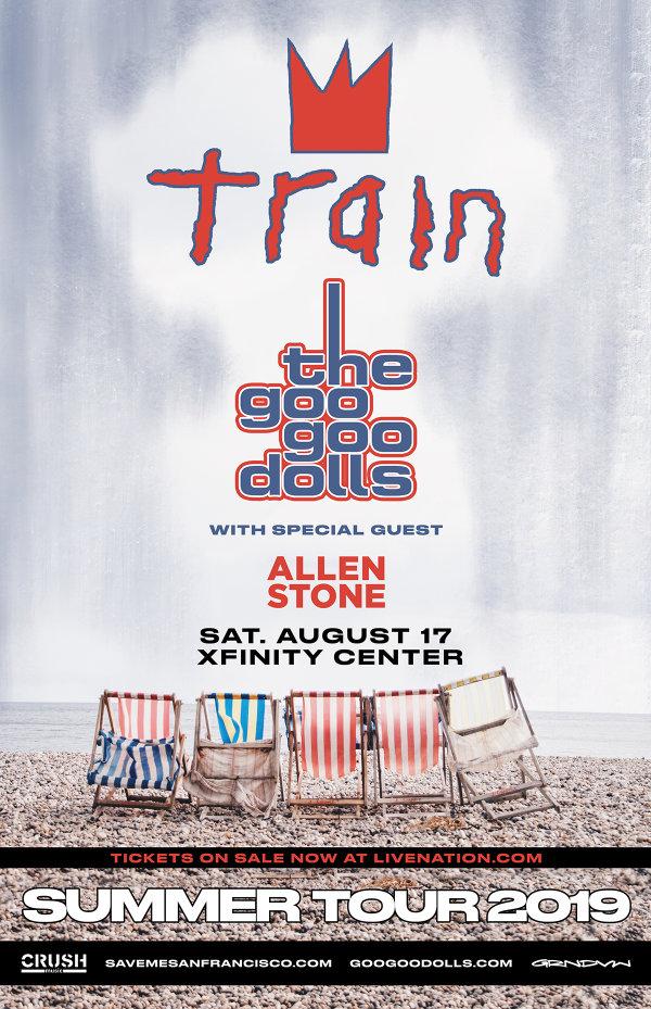 None -  Train & The Goo Goo Dolls at the Xfinity Center
