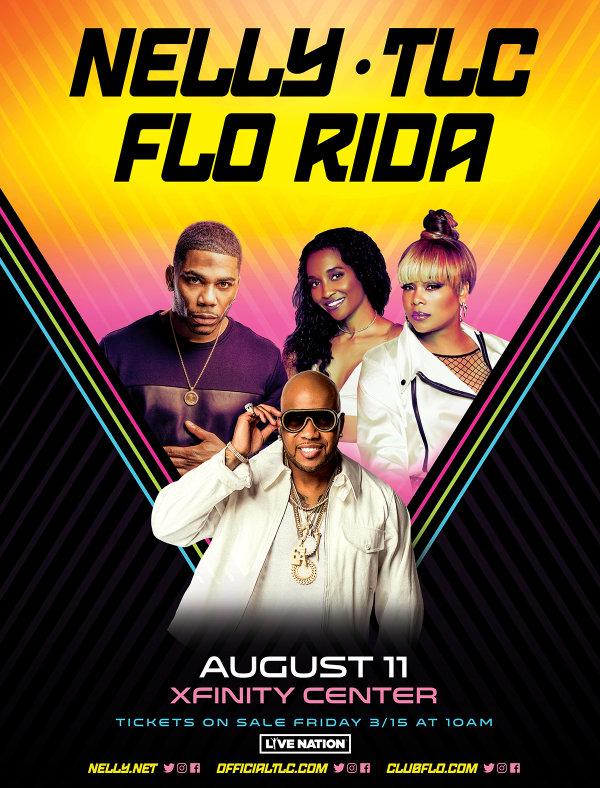 None - Nelly, TLC, & Flo-Rida at the Xfinity Center