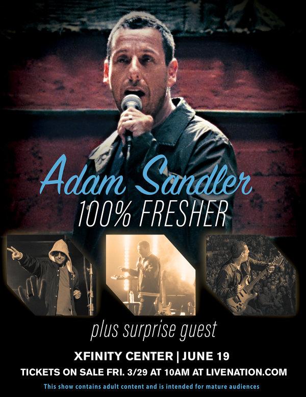 None - Adam Sandler at Xfinity Center
