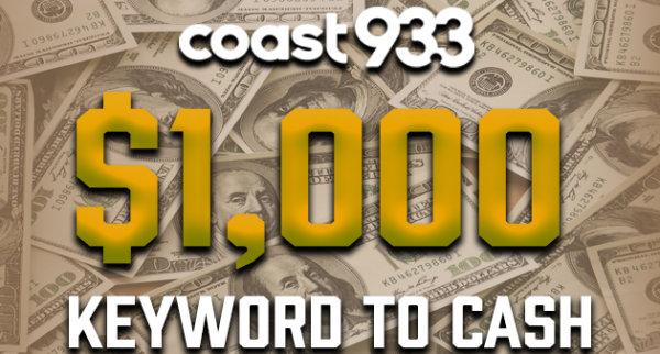 None - $1,000 Keyword to Cash!